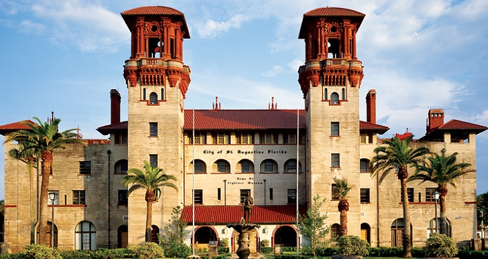 exterior image of the Lightner Museum, grand architecture