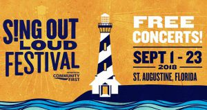 Enjoy a variety of music at The Sing Out Loud Festival
