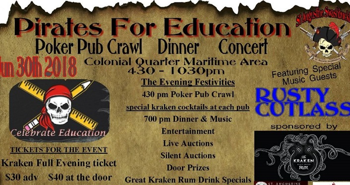 Come pillage and plunder for a good cause