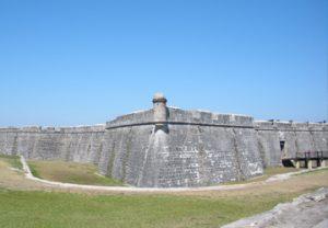 image of Castillo de San Marcos from outside