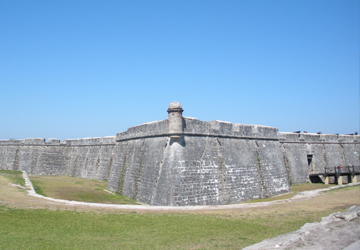 image of Castillo de San Marcos from outside