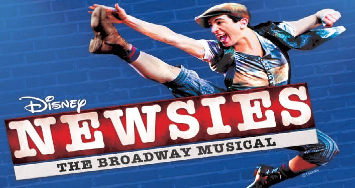 Disney Newsies the Broadway Musical