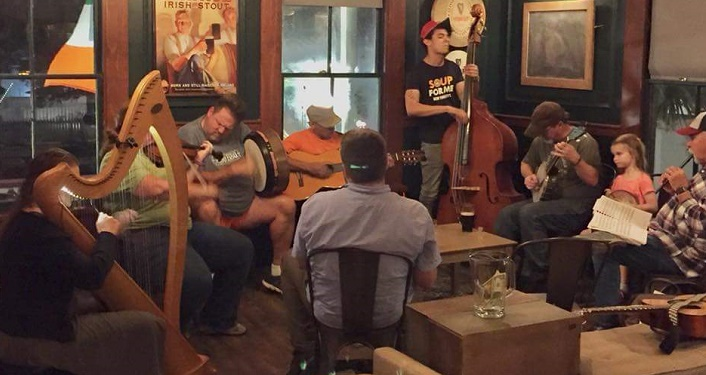 Irish Music Session Style at Barley Republic