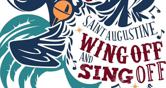 The Great St. Augustine Wing Off and Sing Off