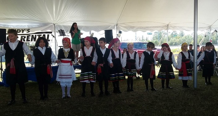 Come enjoy watching the dancers at the St. Augustine Greek Festival