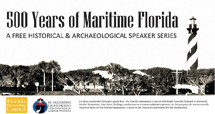 500 Years of Maritime FL Speaker Series is free and open to the public