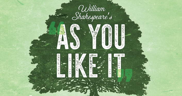 "William Shakespeare's delightful romantic comedy ""As You Like It"" at the Backyard at the Amphitheatre"