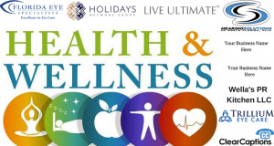 Don't miss the Health & Wellness Expo