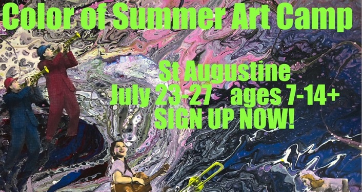Register for the Color of Summer ART CAMP