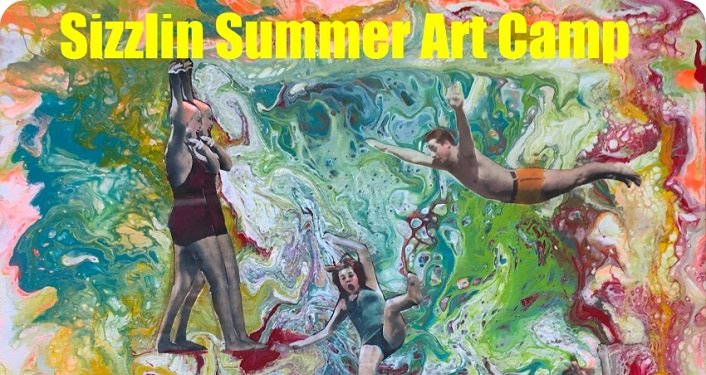 Sizzlin Summer Art Camp, an amazing summer art experience in St. Augustine!