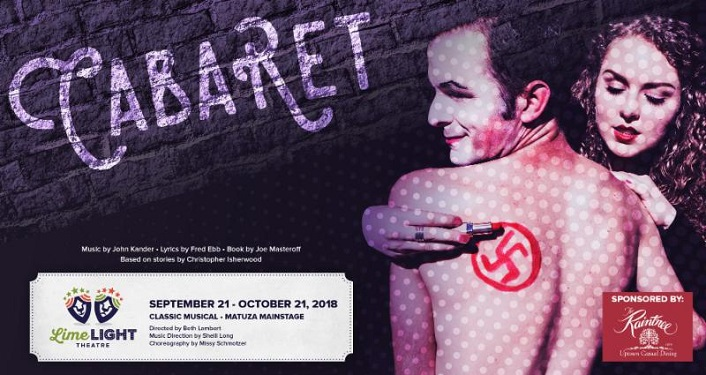 The Tony award-winning musical Cabaret is being performed at Limelight Theatre
