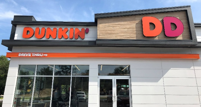 A photo of the Next Generation Dunkin' Donuts in St. Augustine, Florida