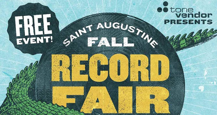 Fall 2018 St. Augustine Record Fair is a free, family-friendly event..especially for music lovers