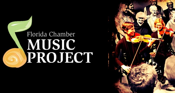 The Florida Chamber Music Project (FCMP) is proud to celebrate its' sixth year of providing a wonderful repertoire of chamber music for the Northeast Florida region.