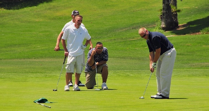 Team of Golfers