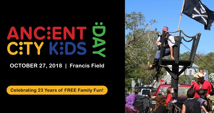 Ancient City Kids Day is a day of fun-filled activities for children and families.