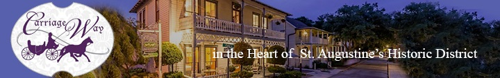 Stay at Carriage Way...in the Heart of St. Augustine's Historic District