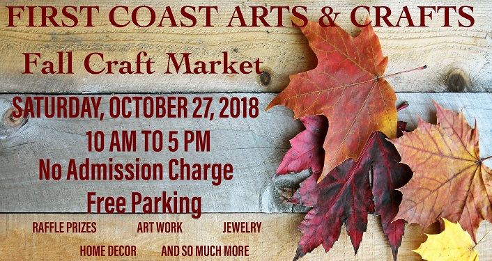 Start your Holiday shopping at First Coast Arts & Crafts Fall Craft Market