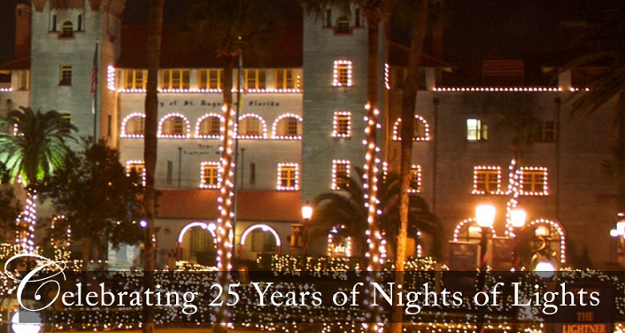 Come experience the twinkling magic of Nights of Lights in St. Augustine