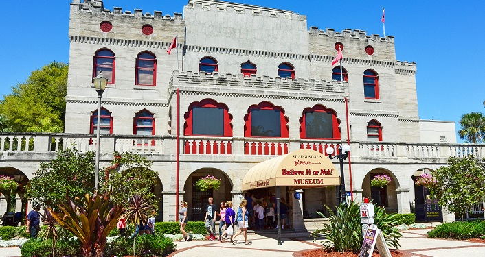image of the outside of Ripley's Believe It or Not! Museum