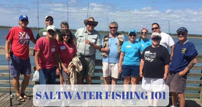 During Saltwater Fishing 101 classes, learn the ins and outs of saltwater fishing in Florida
