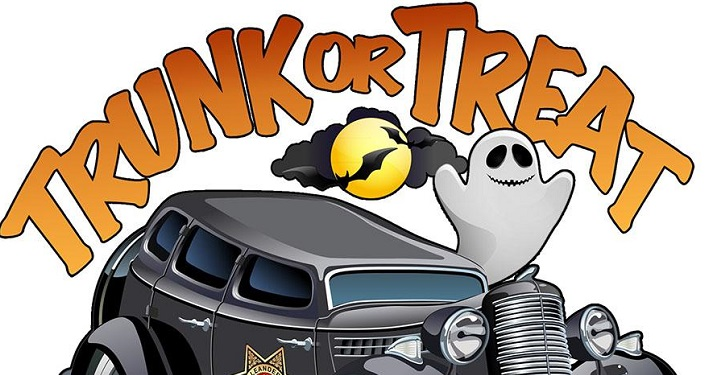 Come to Trunk of Treat...a safe trick or treat event for kids