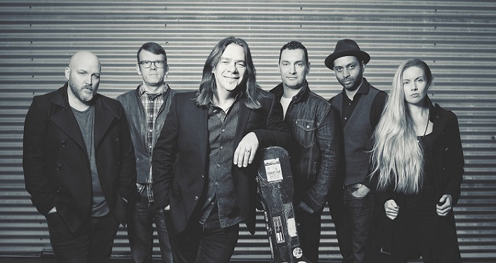 Listen to the sounds of Newfoundland's Contemporary Celtic musician Alan Doyle and his band when they perform at PV Concert Hall