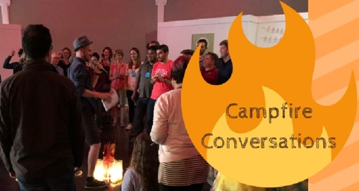 At Campfire Conversations we'll ask deep questions by candlelight and see what magical adventure we can create -- together.