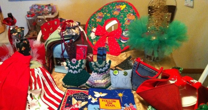 Select from handmade items at the annual Christmas Market
