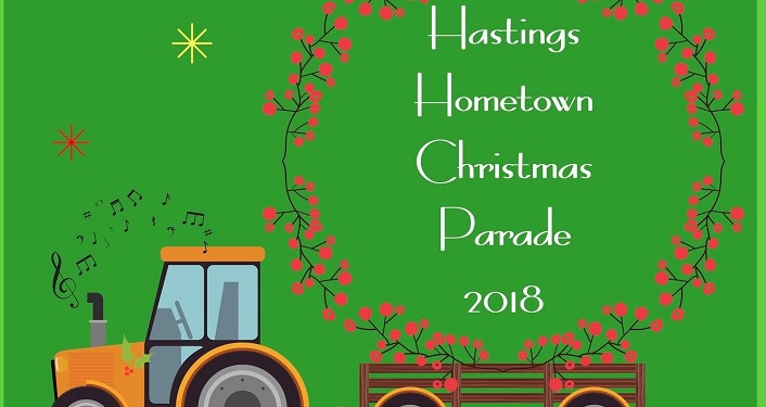 Get in the holiday spirit at the Hastings Hometown Christmas Parade