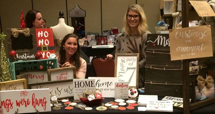 Do some shopping for gifts at the Holiday Craft and Vendor Event