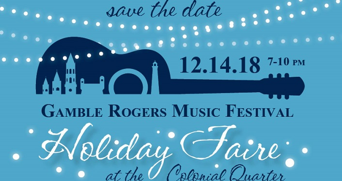 Enjoy live music, caroling, crafts and more at the Holiday Faire at the Colonial Quarter