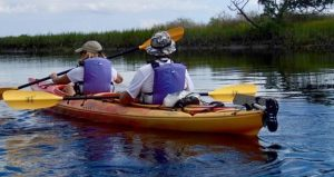 Learn about the history of the area on a Moses Creek Kayak Trip