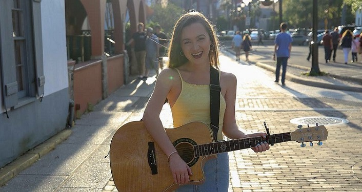 Enjoy the sounds of Sing Out Loud Festival Artist Spotlight featuring local Peyton Lescher