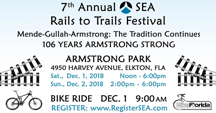 Rails to Trails Festival is a celebration of Gullah Geechee Heritage