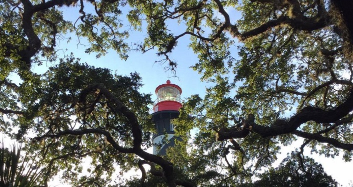 St. Augustine Lighthouse & Maritime Museum, St. Augustine's oldest surviving brick structure