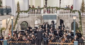 Enjoy the sounds of the Holiday when St. Augustine Orchestra performs at Cafe Alcazar