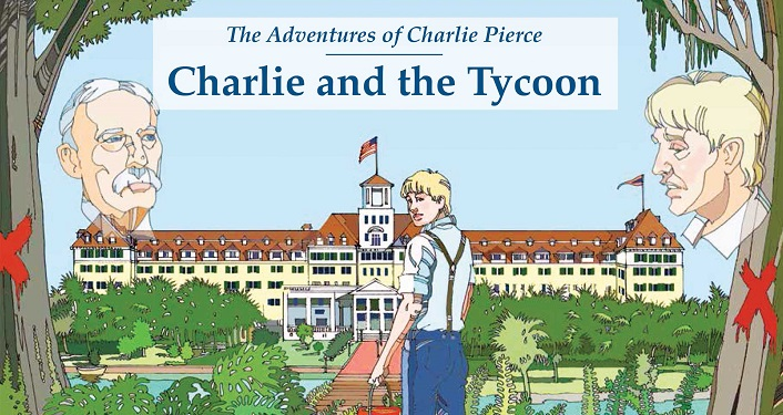 "Readings from Harvey E. Oyer III's series, ""The Adventures of Charlie Pierce"", will be performed by the education department faculty and students."