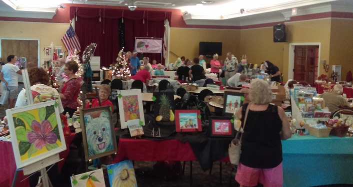 Check out the handmade items at Coquina Crossing Arts & Crafts Show