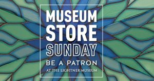 Join us for Museum Store Sunday