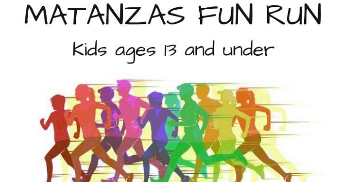 Get ready, set, go! Join us for a one-mile Matanzas Fun Run for kids ages 13 and under.