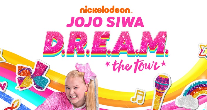 "Nickelodeon superstar and YouTube personality JoJo Siwa will bring her ""D.R.E.A.M. The Tour"" to the St. Augustine Amphitheatre"