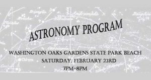 See the mysteries of the stars unfold before you during the Astronomy Program at Washington Oaks