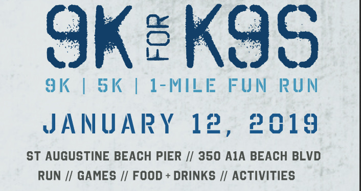 Suport our four-legged heroes! at K9's United 9K/5K/1 Mile Fun Run