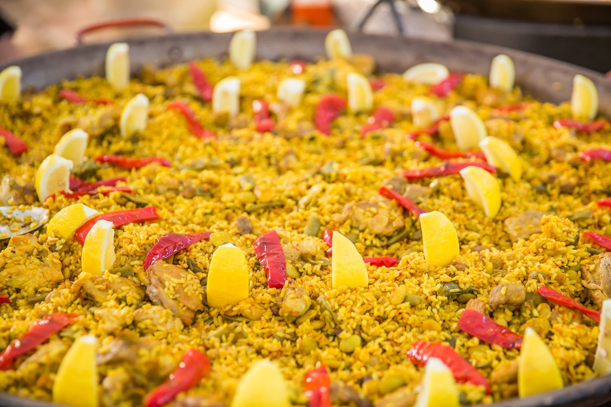 Paella will be prepared and served at the 500th Birthday of Pedro Menéndez, St. Augustine's founder,, at the Noche de Festival gala
