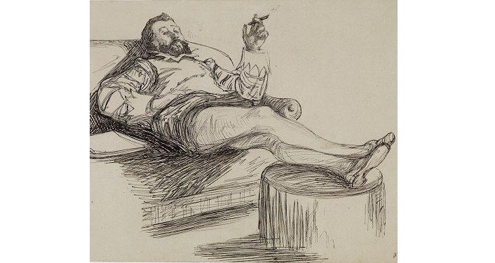 Degas Painting, Renouard