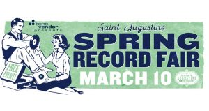 The Spring St. Augustine Record Fair is a favorite for musicphiles searching for new and rare records, CDs, tapes, memorabilia and more.