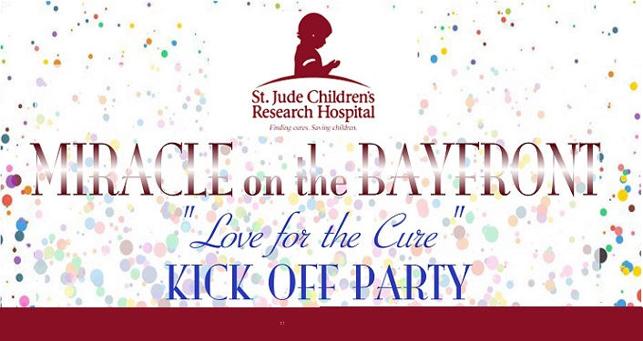 Raise money for St. Jude Children's Research Hospital at the Love for the Cure Kick Off Party!