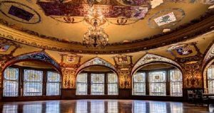 image of the Interior of Dining Hall seen on Historic Tours of Flagler College