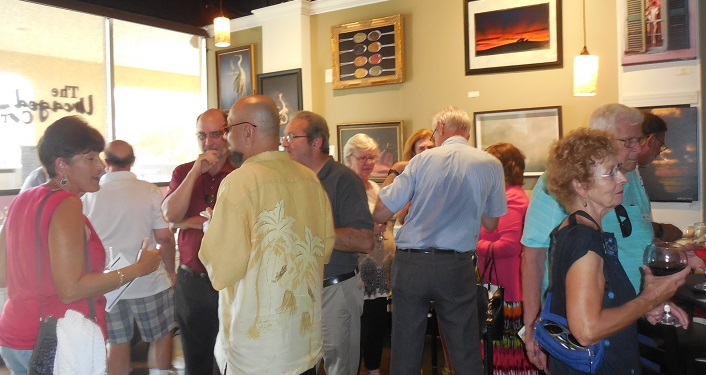 Romanza Gatherings are a networking event that is open to ALL individuals and cultural organizations, members and non-members alike. It's a unique and comfortable opportunity for the creative community to socialize.